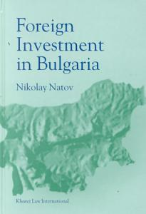 Foreign Investments in Bulgaria PDF