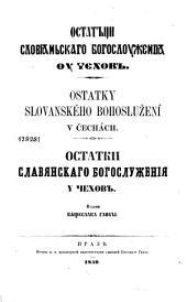 Ostatky slovanského bohoslužení v Čechách