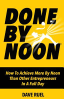 Download Done By Noon R  Book