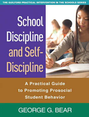 School Discipline and Self Discipline