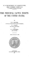 The Principal Cactus Insects of the United States PDF