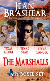 The Marshalls Boxed Set (Texas Heroes: The Marshalls Books 1-3)