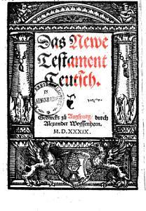 Das Newe Testament Teutsch PDF
