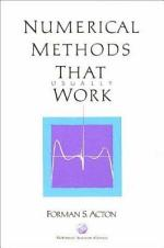 Numerical Methods that Work
