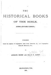 The Historical Books of the Bible: School and Family Edition