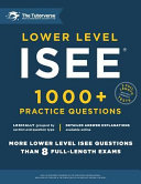Lower Level Isee Book