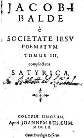 Poemata: Complectens Satyrica, Volume 3