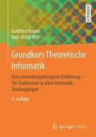 Grundkurs Theoretische Informatik PDF