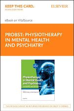 Physiotherapy in Mental Health and Psychiatry E-Book
