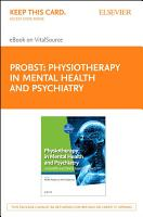 Physiotherapy in Mental Health and Psychiatry E Book PDF