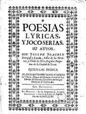 Poesias lyricas y joco-serias