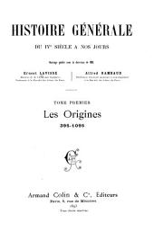 Les origines, 395-1095