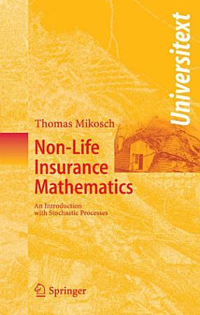Non Life Insurance Mathematics PDF
