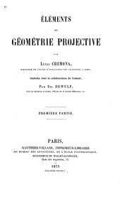 Éléments de géométrie projective