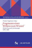 Fragmente eines Willens zum Wissen PDF