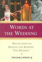 Words at the Wedding PDF