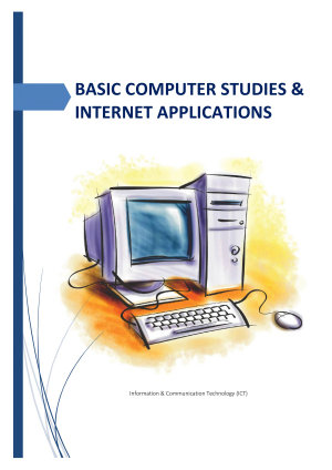 BASIC COMPUTER STUDIES   INTERNET APPLICATIONS