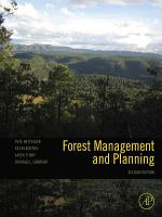 Forest Management and Planning PDF