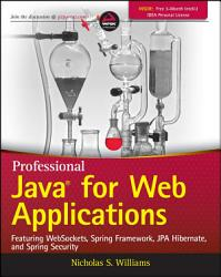 Professional Java For Web Applications Book PDF