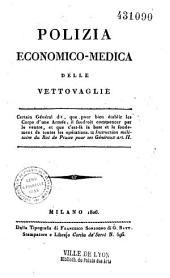 Polizia economico-medica delle vettovaglie