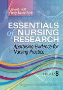 Essentials of Nursing Research  8th Ed    Study Guide PDF