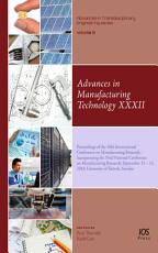 Advances in Manufacturing Technology XXXII PDF