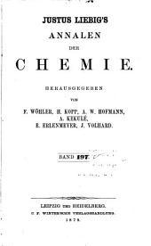 Justus Liebigs Annalen der Chemie: Bände 197-198