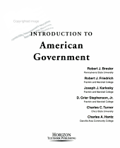 Introduction to American Government PDF
