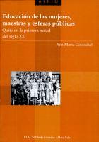 Educaci  n de las mujeres  maestras y esferas p  blicas PDF