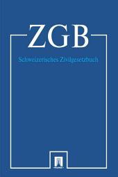 Schweizerisches Zivilgesetzbuch - ZGB 2016