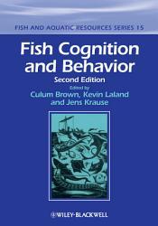 Fish Cognition And Behavior Book PDF