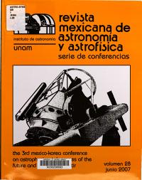 Third Mexico Korea Conference on Astrophysics