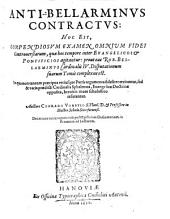 Anti-Bellarminus contractus