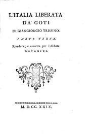 L'Italia liberata da' Goti: Volume 3