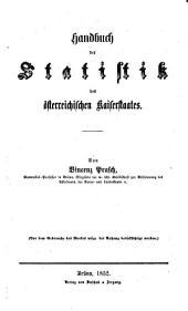 Handbuch der Statistik des oesterreichischen Kaiserstaates