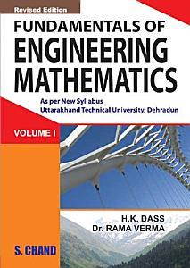 Fundamental of Engineering Mathematics Vol I  Uttrakhand