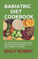 Bariatric Diet Cookbook Book PDF
