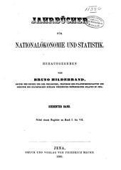 Jahrbücher für Nationalökonomie und Statistik: Band 7