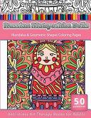 Coloring Books for Grownups Russian Matryoshka Dolls