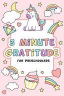 3 Minute Gratitude for Preschoolers