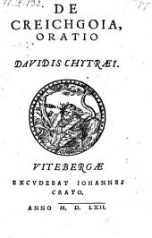 De Creichgoia oratio