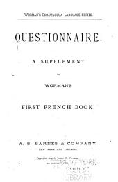 Questionnaire: A Supplement to Worman's First French Book