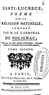 L'anti-Lucrece: poëme sur la religion naturelle, Volume1
