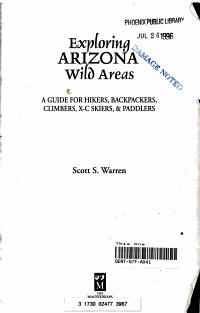 Exploring Arizona s Wild Areas