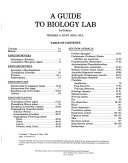 A Guide to Biology Lab