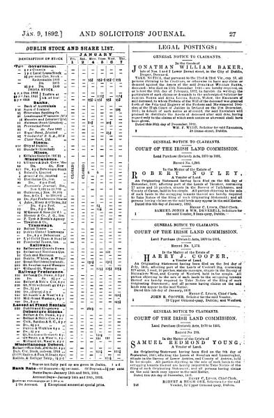 Download The Irish Law Times and Solicitors  Journal Book