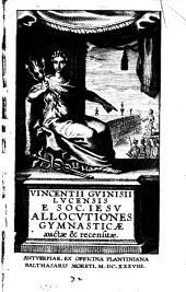 Allocutiones gymnasticae: auctae et recensitae