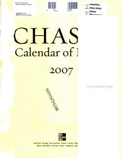 Chase s Calendar of Events 2007 PDF