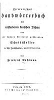 Literarisches Handw  rterbuch der verstorbenen deutscher Dichter PDF