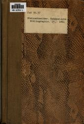 Hebräische Bibliographie: Volume 4, Issues 19-24
